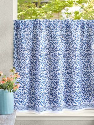 English Gardens (CP) ~ Kitchen Curtain