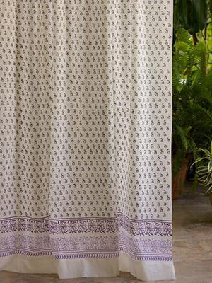 French Provencal Lavender Print Bedding Duvet Table