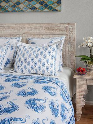 Colorful Decorative Exotic Standard Flanged Pillow Shams