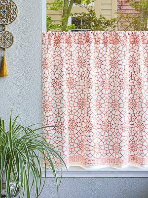 Kitchen Curtains, Cafe Curtains, Tiers, Window Treatment   Saffron ...