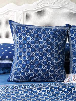 starry nights exotic batik euro european pillow sham cover