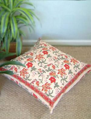 tropical garden colorful country floral euro pillow sham cover