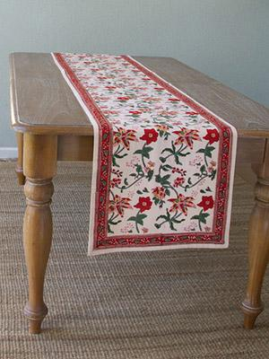 90, 108, 120 Inch Table Runner, India Table Runner, Wedding, Country