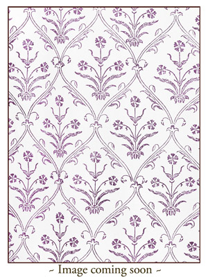 Victorian Lilac - Ivory ~ Dinner Napkins