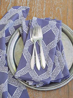 Victorian Lilac ~ Purple Lavender Cloth Dinner Napkins