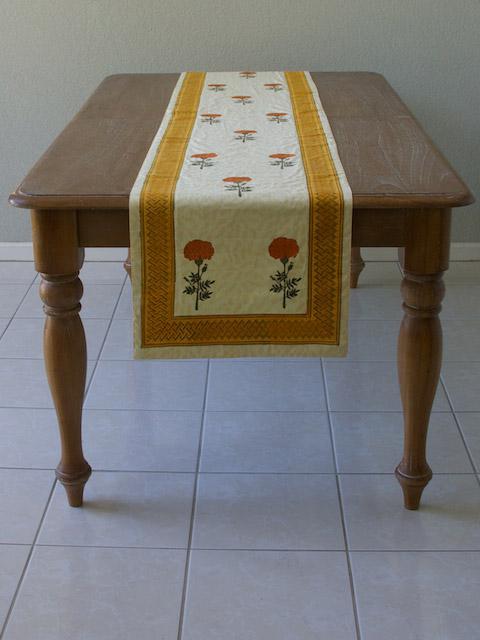 90 108 120 Inch Table Runner India Table Runner